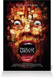 Poster for 1999 production of 13 Ghosts